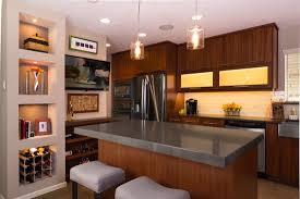 contemporary sleek kitchen bobo design build
