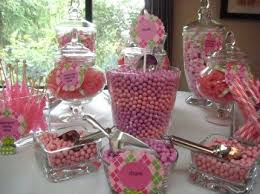Baby Shower Candy Buffet Pictures by Top 25 Best Pink Candy Table Ideas On Pinterest Baby Shower