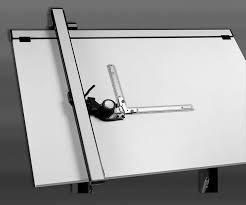Drafting Table With Parallel Bar Drafting Supplies Drafting Supplies Equipment Drafting