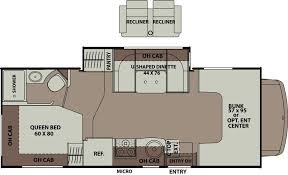 Coachmen Class C Motorhome Floor Plans 2015 Coachmen Leprechaun 220qb Class C Tucson Az Freedom Rv Az