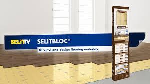 B And Q Laminate Flooring Underlay Selitbloc Vinyl And Design Flooring Underlay Youtube