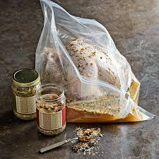 container for brining turkey brining bags set of 3 williams sonoma