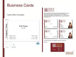 fedex business cards gallery free business cards