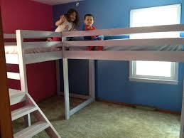 Elevated Platform Bed Elevated Bed Frame Roo Diy Loft Bed Frame Plans Loft Bed Frame Sg