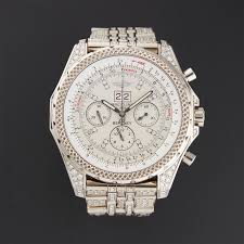 bentley breitling diamond breitling bentley chronograph automatic pre owned influential
