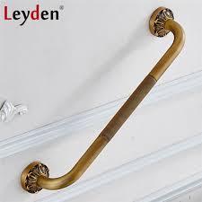 Disabled Handrails Aliexpress Com Buy Leyden Copper Bathroom Grab Bar Toilet