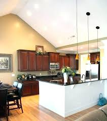cathedral ceiling kitchen lighting ideas vaulted ceiling kitchen exquisite lighting ideas for vaulted ceiling