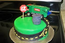 garbage truck cakes u2013 decoration ideas little birthday cakes