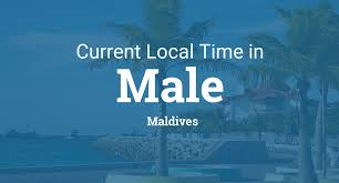 World Map With Time Zones Current Local Time In Male Maldives