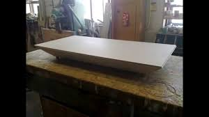 Make Your Own Coffee Table by How To Make Your Own Air Hockey Table Youtube