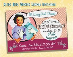 how to throw a retro bridal shower vintage wedding