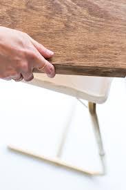 fold away tray table digiorno diy tv tray table 5 sugar cloth