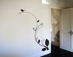 Artistic Wall Design Or By Imposing Simple Wall Paintings Designs - Wall paintings design