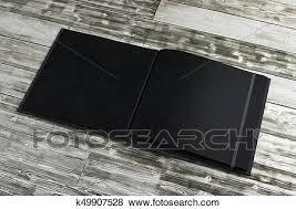 bloc note sur bureau banque d illustrations propre noir bloc notes sur bois bureau