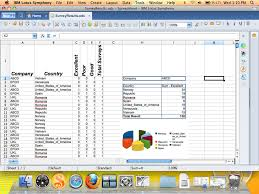 Spreadsheet For Mac Ibm Lotus Symphony For Mac Creating Spreadsheet Geek Com