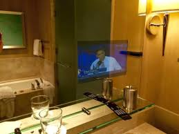 mirror bathroom tv bathroom tv embedded in the mirror picture of four seasons