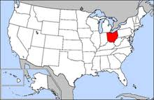 ohio on the map of usa ohio wiktionary