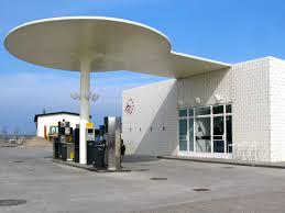 skovshoved gas station architectuul