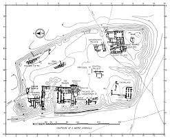 Ancient Mesopotamia Map Ancient Near East Architecture 2000 540 Bc Site Plan Of Anciebt