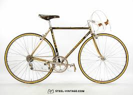 50th anniversary gold plate steel vintage bikes vicini oro anniversary gold plated bicycle