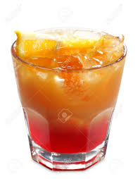 campari alcoholic cocktail made of campari bitter and orange juice