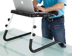 Standing Desk Laptop Fitdesk Tabletop Chair Notebook Tablet Desk On Sale Until Friday