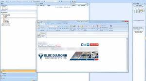 design html email signature dreamweaver how to set up a custom html email signature in outlook youtube