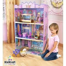 Dollhouse Toddler Bed Bookcase Kidkraft Princess Girls Toddler Bed In Pink Kidkraft