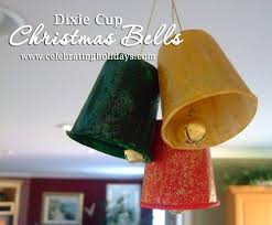 dixie cup diy christmas bells craft celebrating holidays