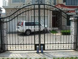 Beautiful Swing Open Ornamental House Wrought Iron Main Design