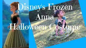Princess Anna Halloween Costume Disney U0027s Frozen Princess Anna Halloween Costume Gabriella