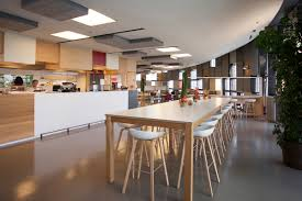 agbar u0027s barcelona corporate cafeteria indastudio hay office