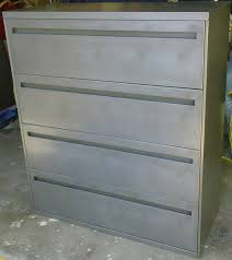 Lateral Filing Cabinet 2 Drawer by Vintage Steel Lateral File Cabinets