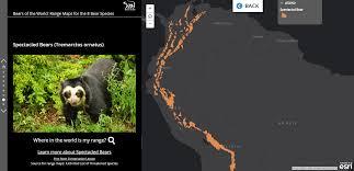 Esri Story Maps Bears Of The World Story Map Blue Raster