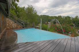 new great lakes in ground fiberglass pool by san juan san juan fiberglass pools horizon vanishing edge infinity pool