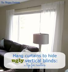 window treatments over vertical blinds i budget blinds woven
