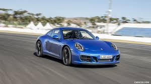 blue porsche 911 2018 porsche 911 carrera 4 gts coupe color sapphire blue