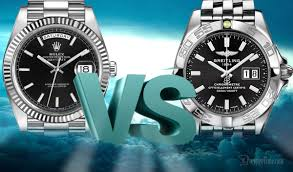 which brand is the best rolex vs breitling comparison which is the best