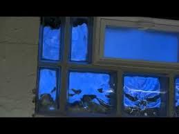 Glass Block For Basement Windows by Glass Block Basement Window Youtube