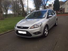 2009 1 owner top spec ford focus 1 6 tdci diesel moted and taxed
