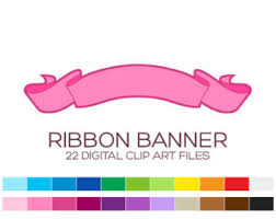 pink ribbon banner clipart 1945245