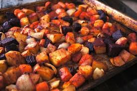 cumin roasted root vegetable recipe cooking on the weekends