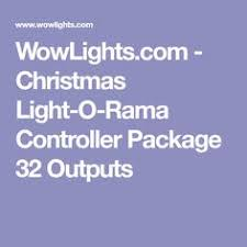 how to set up a light o rama display lor basic layout with rgb controller christmas light shows info