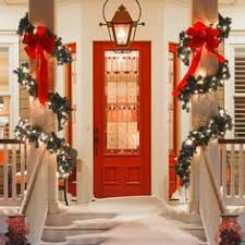 Christmas Decorations Outdoor Ideas - time for the holidays pretty christmas garland holiday