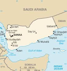 where is yemen on the map list of cities in yemen