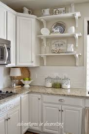 best 25 tan kitchen walls ideas on pinterest tan kitchen three shelves like these by the door in the kitchen adventures in decorating more changes in our kitchen