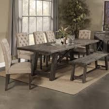 loon peak extendable dining table loon peak todd creek extendable dining table home interior