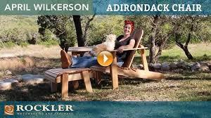 Build An Adirondack Chair Adirondack Projects Rockler Woodworking U0026 Hardware