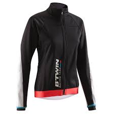 warm cycling jacket 900 women s warm cycling jacket black decathlon