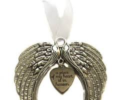 wings ornament etsy